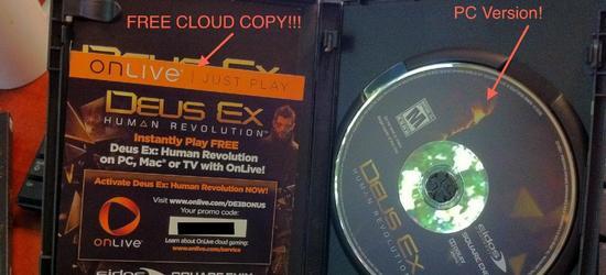 Deus Ex: Human Revolution  OnLive