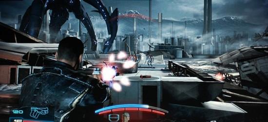 Mass Effect 3 screen