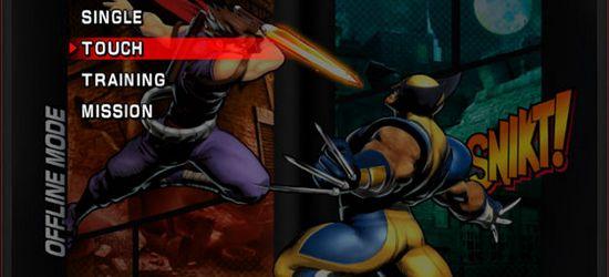 Ultimate Marvel vs Capcom 3 screen