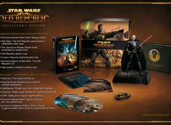 Star Wars: The Old Republic collectr's edition