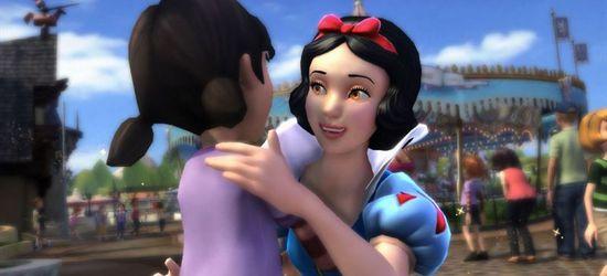 Kinect Disneyland Adventures screen