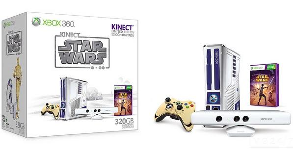 Xbox 360 Limited Edition Kinect Star Wars Bundle фото