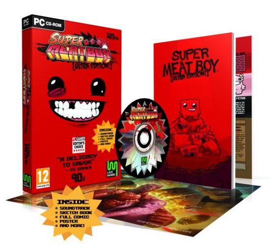 Super Meat Boy Ultra Rare Edition  фото
