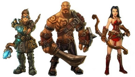 Torchlight heroes