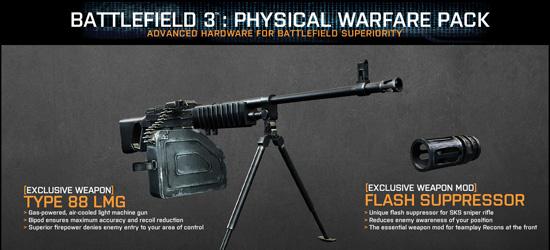 Physical Warfare Pack DLC для Battlefield 3