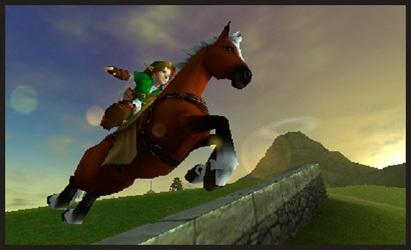 The Legend of Zelda: Ocarina of Time 3D  screen
