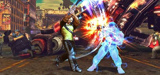 Cole MacGrath в Street Fighter X Tekken