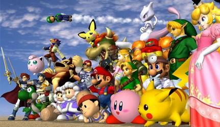 концепт-арт Super Smash Bros.