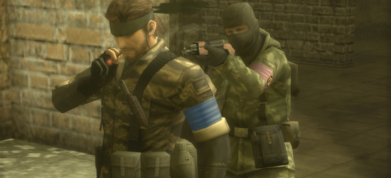 скриншот Metal Gear Solid HD Collection