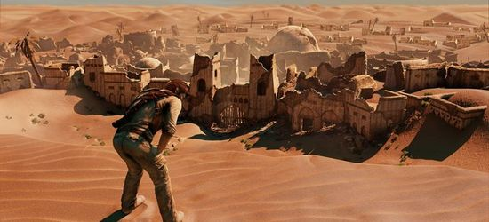 Uncharted 3 screen
