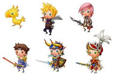 Theatrhythm Final Fantasy art