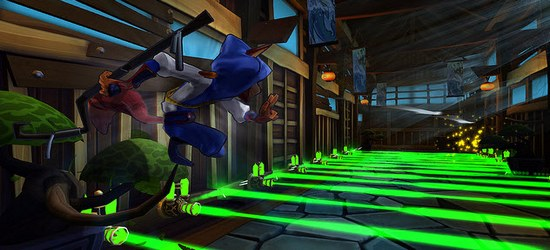 Sly Cooper: Thieves in Time screen