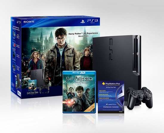 The Harry Potter 3D Experience Movie Pack PS3