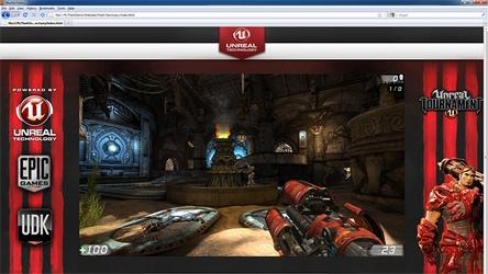 flash-версия Unreal Tournament 3