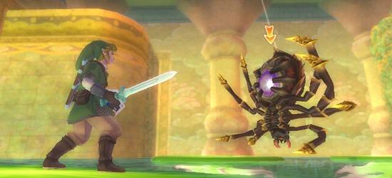 The Legend of Zelda: Skyward Sword screen