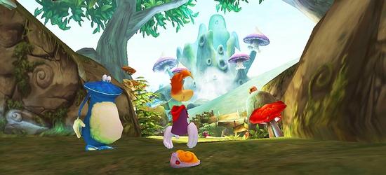 Rayman 3: Hoodlum Havoc HD screen