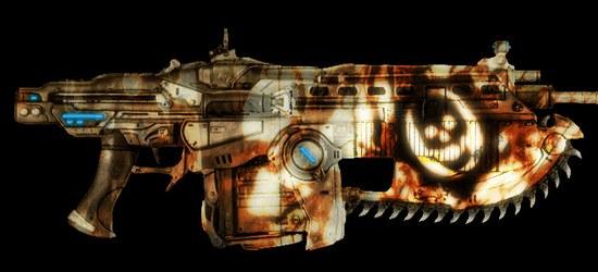 Gears of War scin weapon