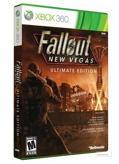 Fallout: New Vegas Ultimate Edition boxart