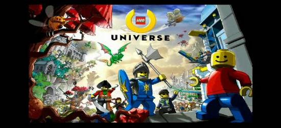 Lego Universe screen