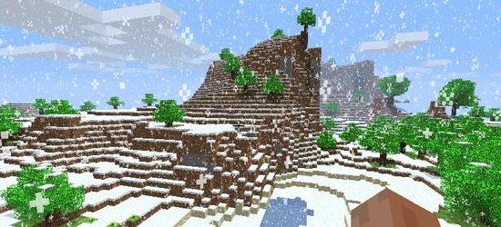Minecraft screen