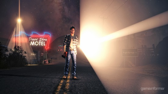 Alan Wake new game screen