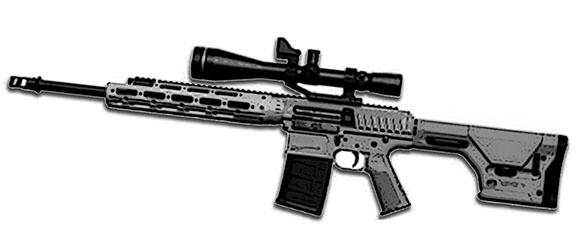 MW3 Sniper rifle