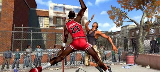 NBA Street screen