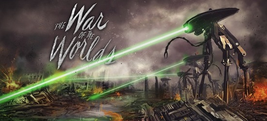 The War of the Worlds logo