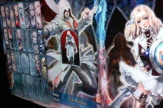 Ezio Auditore в Soul Calibur V