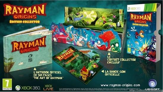 Rayman Origins Collector's Edition screen