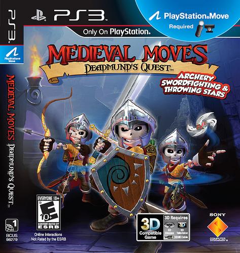 Medieval Moves: Deadmund's Quest boxart