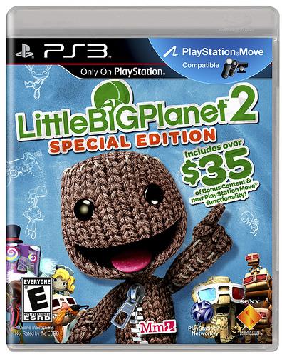 LittleBigPlanet 2: Special Edition boxart