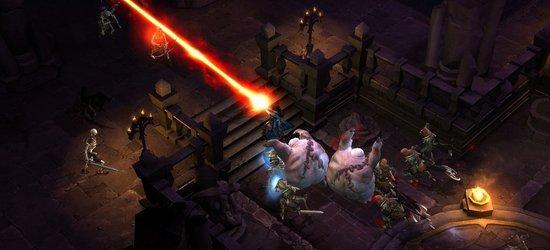 Diablo III screen