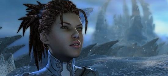 StarCraft II: Heart of the Swarm screen