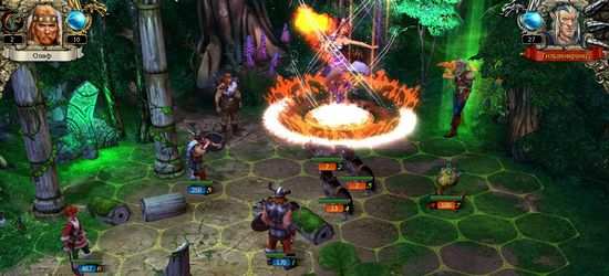 «King's Bounty: Воин Севера» screen