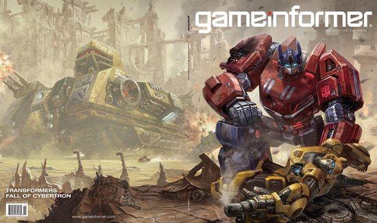 Transformers: Fall of Cybertron art