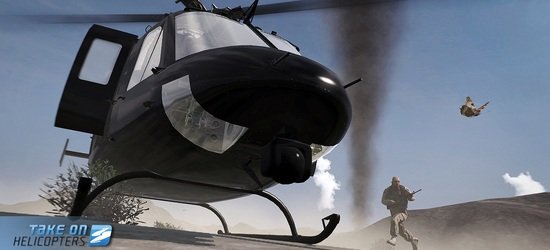 Take On Helicopters  screen