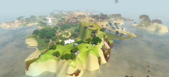 The Witness screens