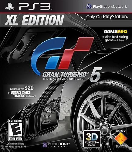 Gran Turismo 5 XL Edition  cover