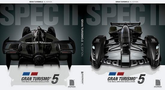 Gran Turismo 5 XL Edition art