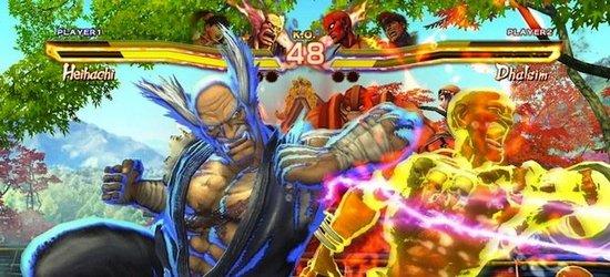 Street Fighter Х Tekken screen