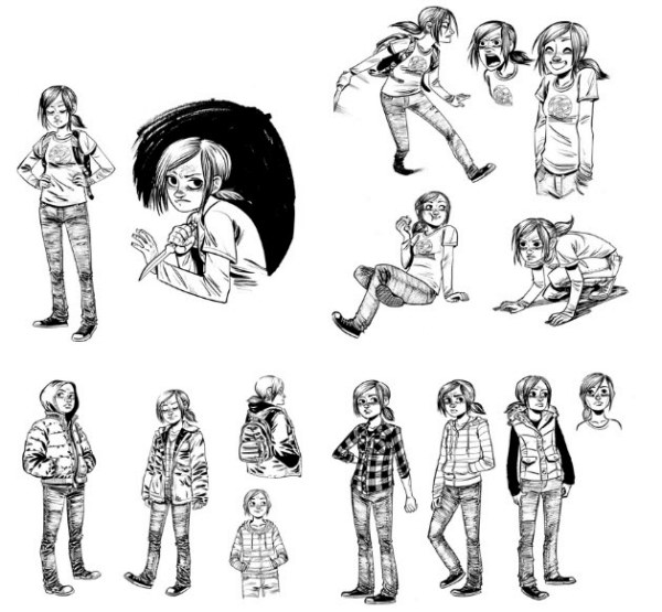 The Last of Us: American Dreams art