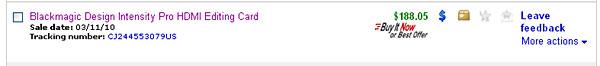 иконки статуса и трекинг в кабинете на eBay
